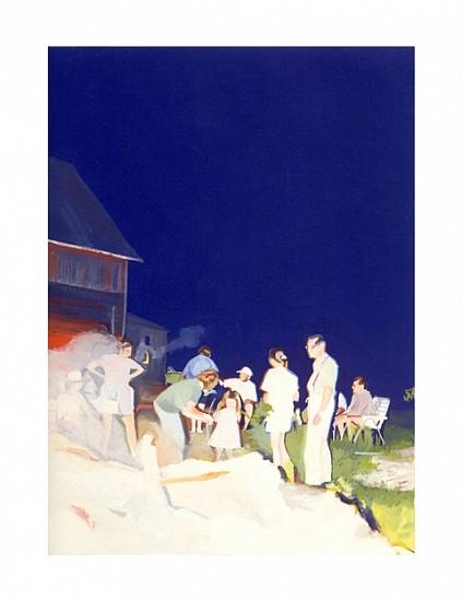Jayne Holsinger, Overexposed No. 8 2001, gouache on paper