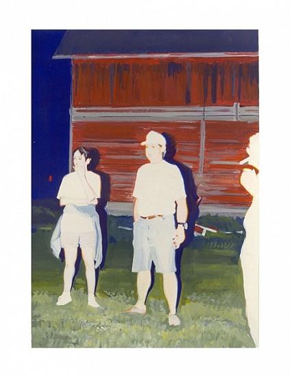 Jayne Holsinger, Overexposed No. 5 2001, gouache on paper