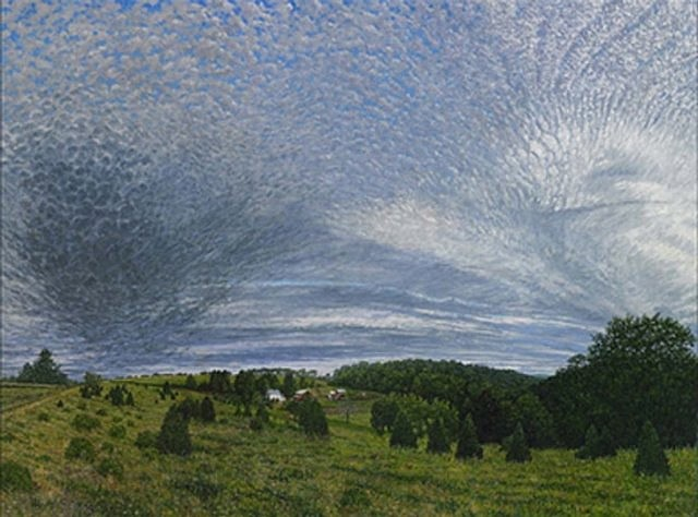 Vincent Hron, Sky II 2005, oil