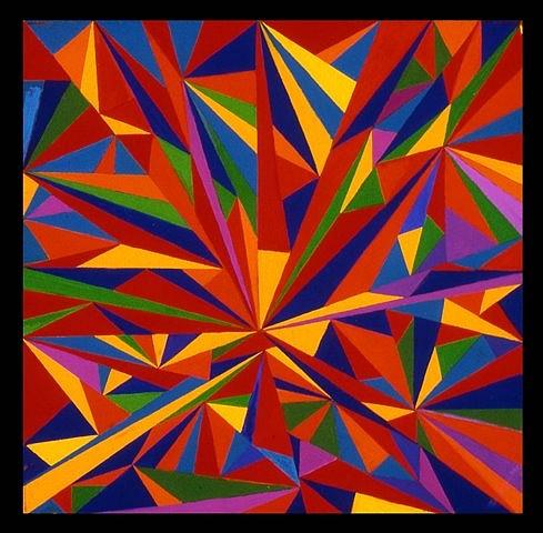 Gloria Klein, Untitled 2006-2007, oil on canvas