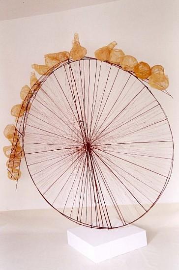 Milan Klic, Mission No. 2 2004, bamboo, cotton