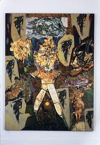 Greg Kwiatek, Demons at Dusk 2005, oil on linen
