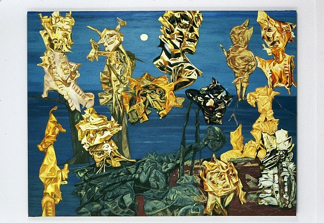 Greg Kwiatek, Twilight 2004, oil on linen