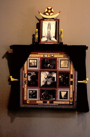Paul Laffoley, Pickman's Mephitic Models 2004, mixed media
