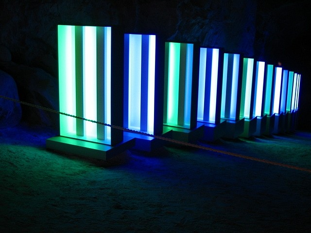 Esa Laurema, The Stream of Light in Green and Blue 2004