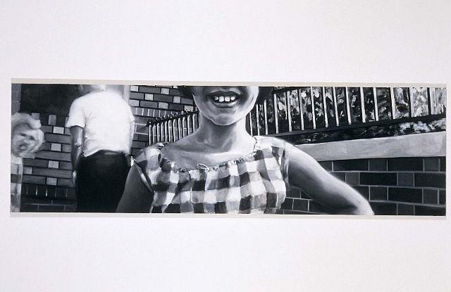Joan Linder, Smile 2003, oil on canvas