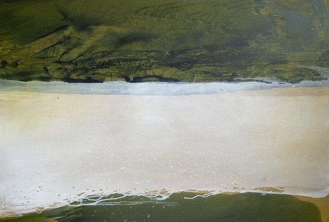 David Lucas, Green No. 2 2006, oil on canvas