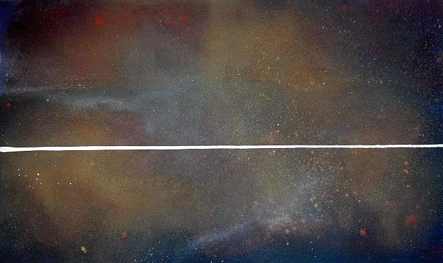 David Lucas, Horizon Line No. 12 2006, oil on canvas