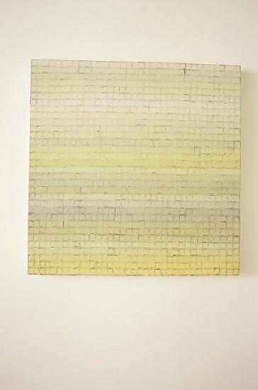Mila Macek, Elementary Units of Belief No. 11 2002, oil on linen