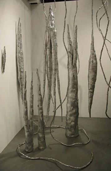 Matthew Magee, Installation 2008, aluminum cans