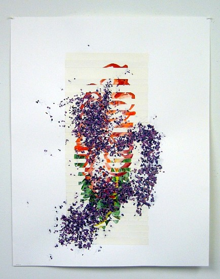 Wolfgang Mayer, Austerlitz 2006, watercolor and acrylic on paper