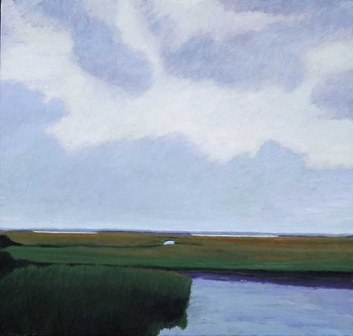 Jane McNichol, Returning Tide 2007, oil on canvas
