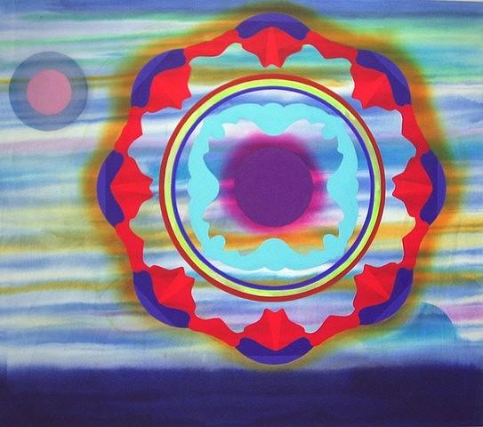 Stephen Mueller, Euterpe 2008, acrylic