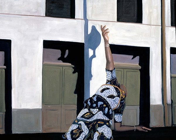 Joseph Pearson, Lamentation 2004, oil on canvas