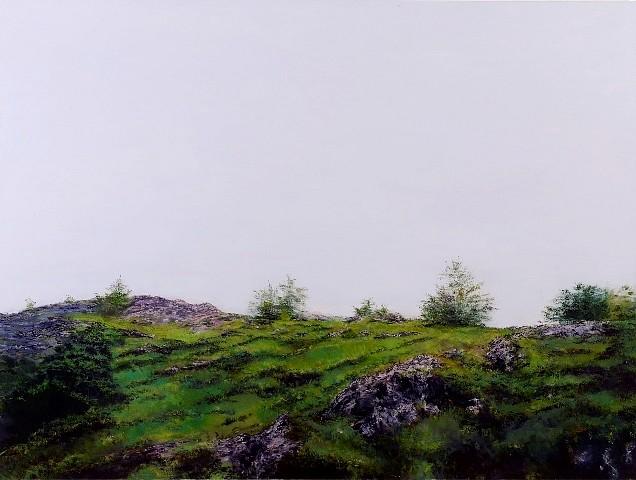 Leta Peer, Along with Simon, GF Index 144 2008, oil on canvas