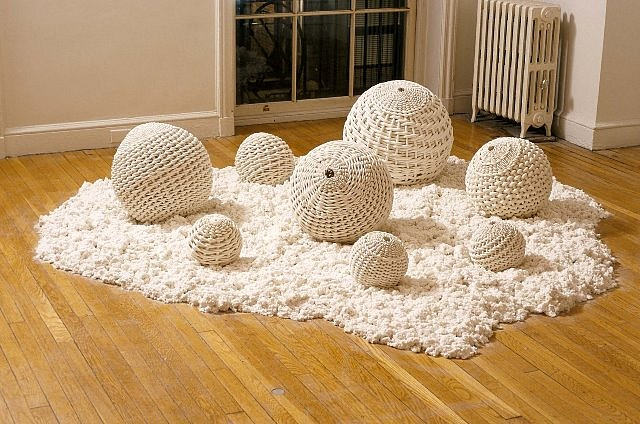 Rina Peleg, Raw Earth 2004, clay