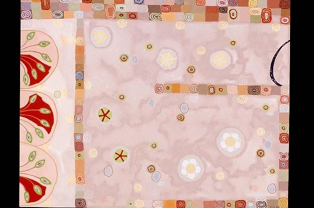 Diane Pieri, Ratnapuri 2003, gouache on clayboard