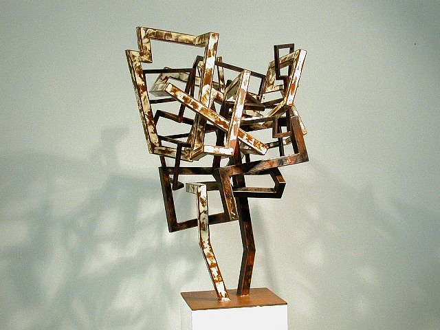 David Provan, Untitled 2004, steel and enamel