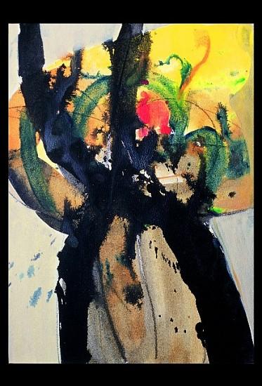 Velebit Restovic, Summer of One Cromosom 2003, acrylic on canvas