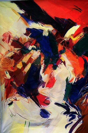 Charlotte Riley-Webb, Ancestry 2005, acrylic on canvas