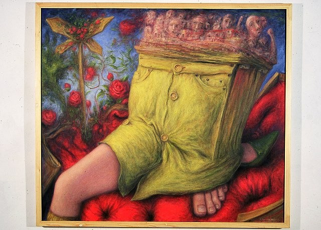 Bob Robinson, Beside Yourself 2004, oil on canvas