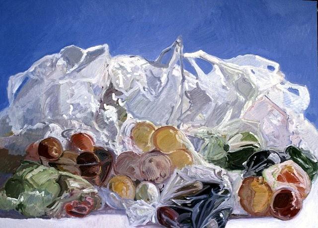 Peter Ruta, Still life 2004, oil on canvas