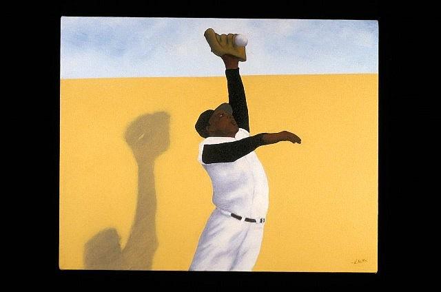 Vincent Scilla, Santa Fe 2004, oil on canvas