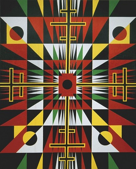 Roy Secord, The African Sun 2008, acrylic on canvas