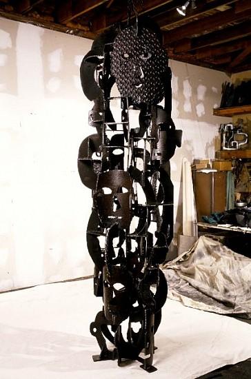 Robert Sestok, Modern Heads 1999, welded steel