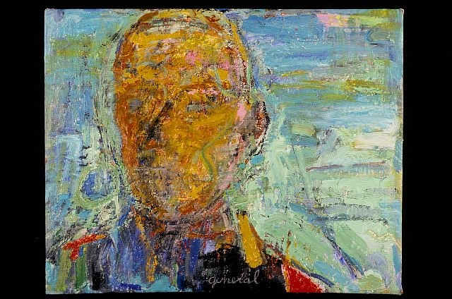 Sheba Sharrow, General 2004, acrylic on linen