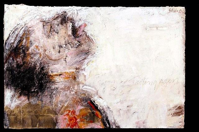 Sheba Sharrow, Tasting Rain 2004, acrylic on arches