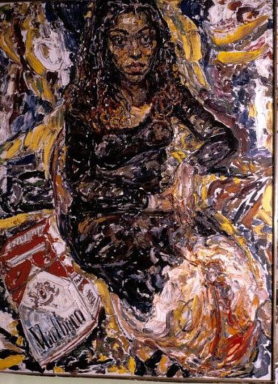 Philip Sherrod, Baby Esquinca 1998, oil on canvas