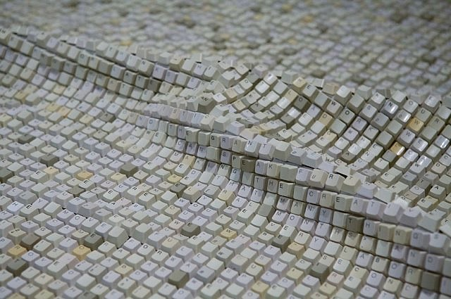 Jean Shin, Textile (Detail); In collaboration with The Fabric Workshop and Museum in Phildelphia 2006