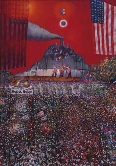 Aco Stankovski, Trance 2000, oil on canvas