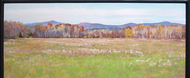 Midge Stires, Catskills View Toward Windham, N.Y. 2008, acrylic