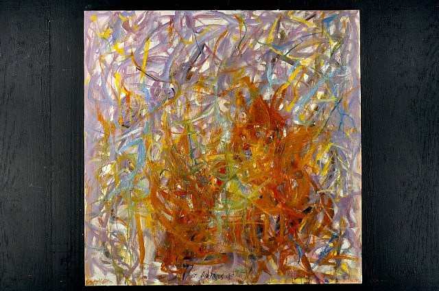 Daniel Swerdloff, At Ishtar's Gate 1999, oil on canvas