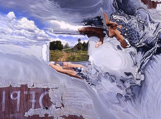 Ariel Tejera, In 1970 2007, acrylic on canvas
