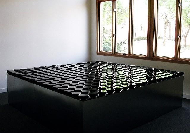 Eric Tillinghast, Water Series #54 2002, water, glass, steel