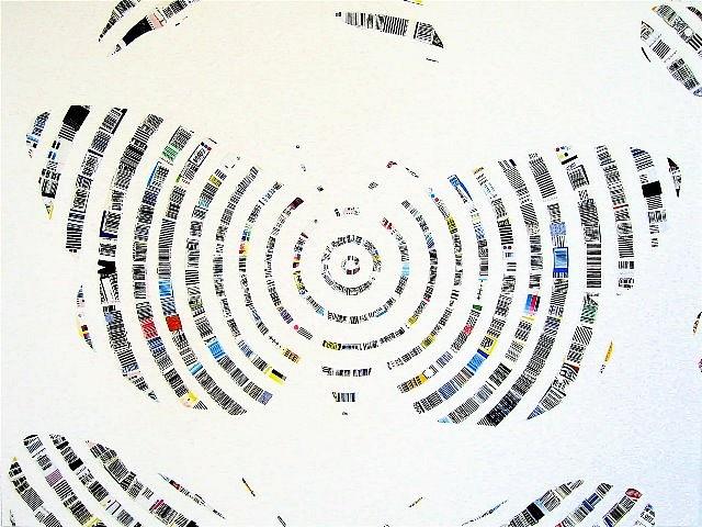 Josette Urso, July 2007, collage