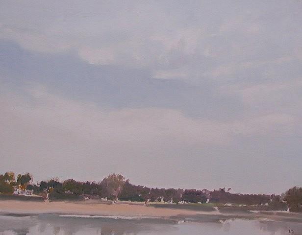 Valta Us, Sagpond 2004, oil