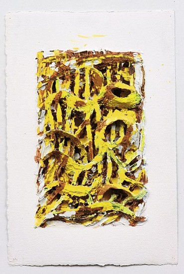 Clover Vail, So What 2005, acrylic and oil on paper