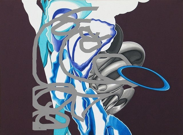 Ted Vasin, Cloud Zero 2006, acrylic on canvas