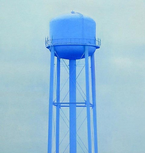 Don Williams, Water Tower 2009, pastel