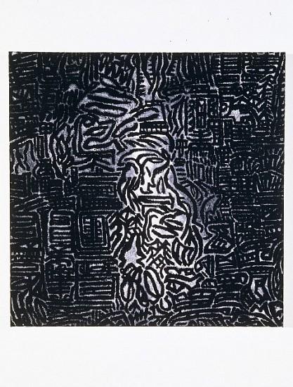 Joan Witek, Falls 2003, mixed media on canvas