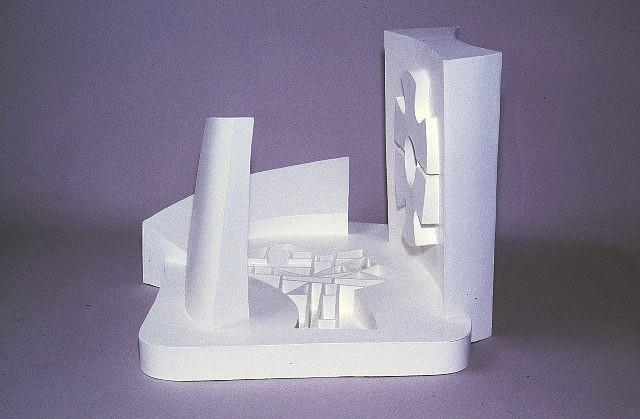 George Ortman, Oaxaca Game Field 2005, marblized plastic cast