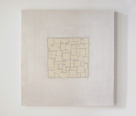 Eriko Yamanaka, Untitled 2005, oil, gesso, pigment, on linen on wood