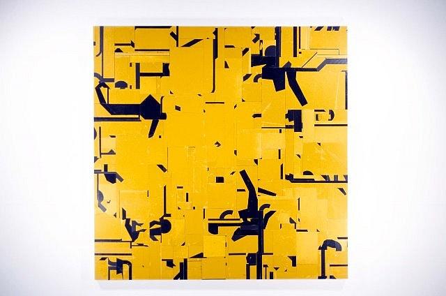 Robert Yoder, Charter 2003, painted wood