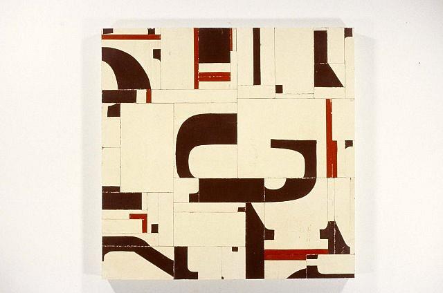 Robert Yoder, Aluminum Management 2004, painted wood
