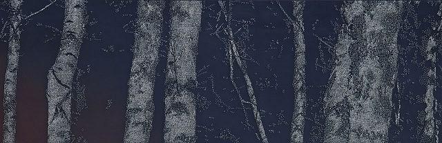 Bong Sang Yoo, BL20080228 2008, nails, auto paint on wood