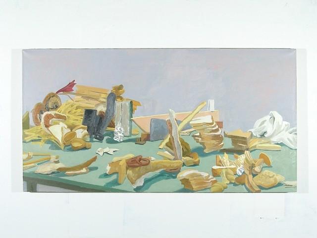 Rachel Youens, Ontology 2005, oil on linen